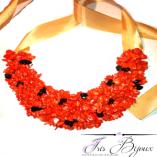 colier-statement-coral-rosu-si-hematit